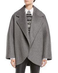 Michael Kors - Oversized Wool Jacket - Lyst