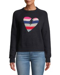 Zadig & Voltaire - Baly Graphic Cashmere Pullover Sweater - Lyst