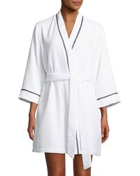 Kate Spade - Ladies First Embroidered Robe - Lyst