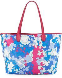 Emilio Pucci - Printed Fabric Beach Tote Bag - Lyst