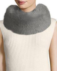 ESCADA - Fox-fur Collar - Lyst