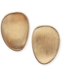Marco Bicego - Lunaria 18k Gold Stud Earrings - Lyst