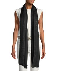 Loro Piana - Aria Crystal-embellished Soffio Stole - Lyst