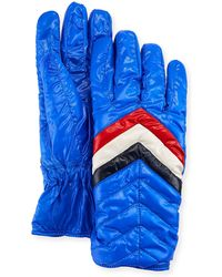 Moncler - Men's Guanti Quilted Gloves - Lyst