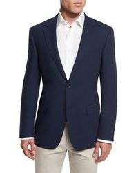 Canali - New Basic Hopsack Two-button Sport Coat - Lyst