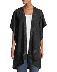 Eileen Fisher - Marrakesh Printed Kimono Jacket - Lyst