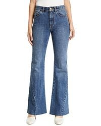 Co. - Bias-seam Flared Jeans - Lyst