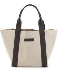 Brunello Cucinelli - Reversible Small Nubuck Tote Bag - Lyst