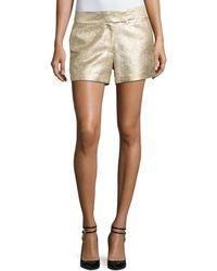 Rachel Zoe - Chou Metallic Shorts - Lyst