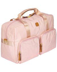 "Bric's X-travel Nylon Boarding Duffel Bag, 18""w - Pink"