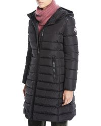 Moncler - Taleve Zip-front Hooded Mid-length Quilted Puffer Jacket - Lyst