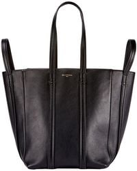 Balenciaga - Laundry Cabas 4-strap Leather Extra Large Tote Bag - Lyst