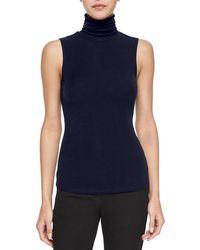 Theory - Wendel Sleeveless Sweater - Lyst