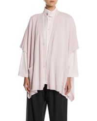 Eskandar - Button-front Longer-back Cashmere Cardigan - Lyst