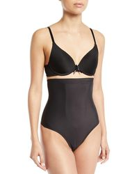Tc Fine Intimates - High-waist Shaping Thong - Lyst