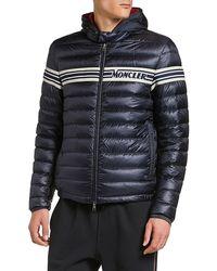 Moncler - Men's Renald Zip-front Puffer Coat - Lyst