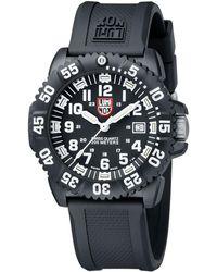 Luminox - 44mm Navy Seal 3050 Series Colormark Watch - Lyst