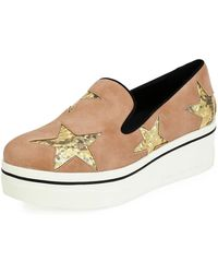 Stella McCartney - Binx Stars Platform Skate Sneaker - Lyst