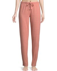Natori - Zen French Terry Lounge Pants - Lyst