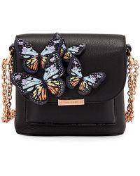 Sophia Webster - Claudie Butterfly Leather Crossbody Flap Bag - Lyst