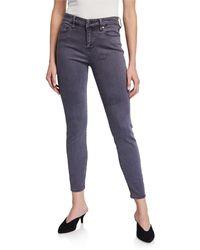 NIC+ZOE Nic Skinny Ankle Jeans - Blue