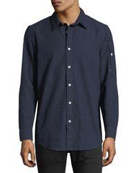 G-Star RAW - Stalt Clean Lightweight Premium Denim Shirt - Lyst