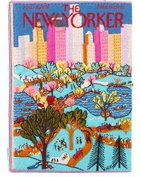 Olympia Le-Tan Central Park Book Clutch Bag - Multicolour