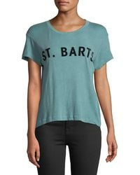 Wildfox - St. Barts Cotton Graphic Tee - Lyst