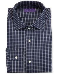Ralph Lauren - Men's Tattersall Dress Shirt - Lyst
