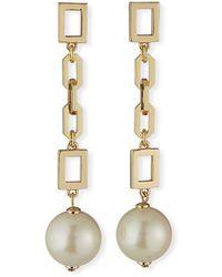 Lulu Frost Folly Dangle Earrings - Metallic