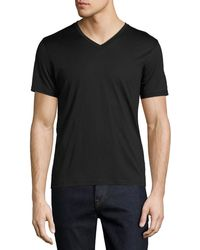 Theory - New Clay Plaito V-neck T-shirt - Lyst
