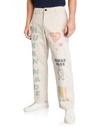 Human Made - Men's Typographic Military Chino Pants - Lyst