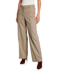 Lafayette 148 New York Winthrop Micro Check Pants - Multicolour