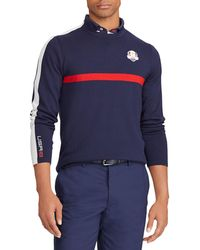 Ralph Lauren - Men's Usa Ryder Cup Thermocool Striped-trim Golf Sweater - Lyst