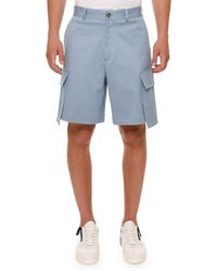 Versace - Oversized-pocket Cargo Shorts - Lyst