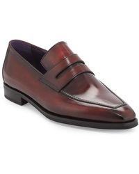 Berluti Andy Burnished Leather Loafer - Red