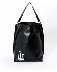 e0cd5ea63b95 Off-White c o Virgil Abloh - Soft Arrow Satchel Bag - Lyst