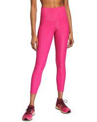 Beach Riot Ribbed High-waist Leggings - Pink