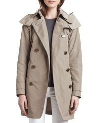 """Burberry Brit - """"Balmoral"""" Trenchcoat With Removable Hood - Lyst"""