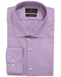 Ike Behar - Men's Stretch-cotton Dress Shirt - Lyst