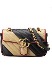 Gucci - GG Marmont Shoulder Bag - Lyst