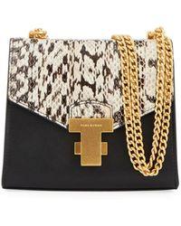 Tory Burch - Juliette Mini Exotic Chain Shoulder Bag - Lyst