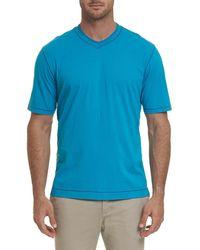 Robert Graham - Men's Maxfield Short-sleeve V-neck Shirt - Lyst