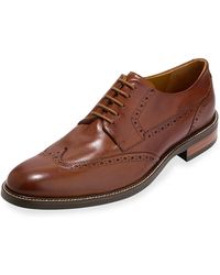 Cole Haan - Warren Leather Wing-tip Oxford British Tan - Lyst