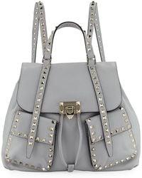 Valentino - Rockstud Double-pocket Backpack - Lyst