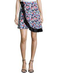 Prabal Gurung - Wrap-front Circle Skirt - Lyst