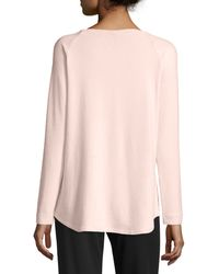 NYDJ - Sarah Long-sleeve Cozy Sweatshirt - Lyst