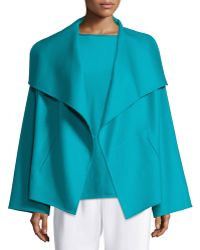 Shamask | Shawl-collar Open-front Jacket | Lyst