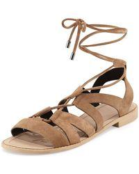 Rebecca Minkoff Greyson Lace Up Sandal - Multicolor
