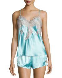 Vivis - Macy Lace-trimmed Camisole - Lyst